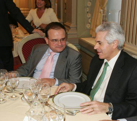 Carlos Álvarez y Francisco Ros
