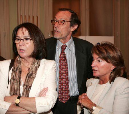 Rosa Conde, Emilio Cassinello y Luisa Peña