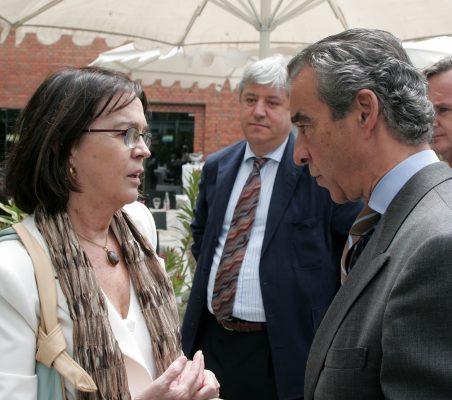 Rosa Conde y Francisco de Bergia