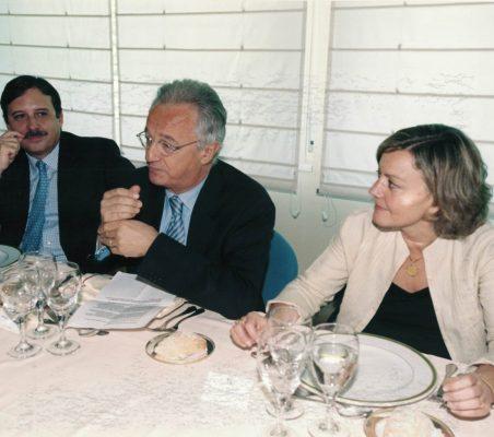 Abelardo Delgado, Ángel Durández y  Ángeles Fernández