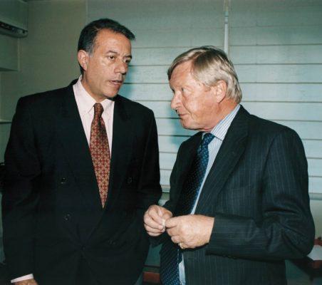 Carlos Salas y Schelto Van Heemstra