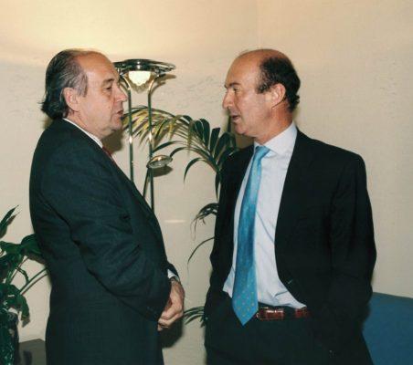 Miguel Vergara y Miguel Iraburu