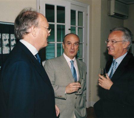 Javier Ramiro, Ignacio Ruiz-Jarabo y Ángel Durández