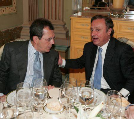 Santiago Martínez Lage y Carlos Berttini