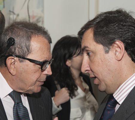 Santiago Martínez Lage y José Ramón García Hernánde