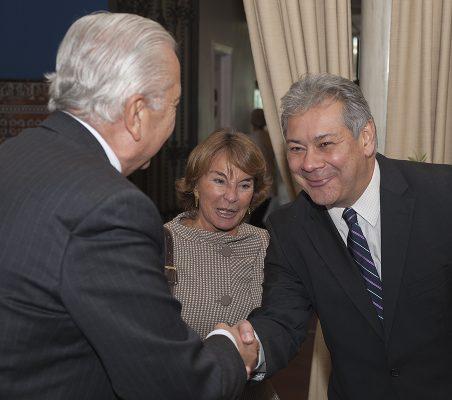 Sergio Romero Pizarro, Luisa Peña y Germán Ríos