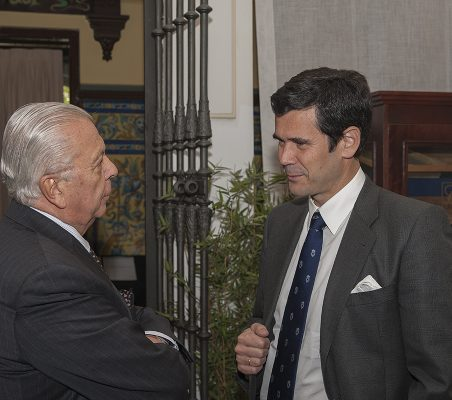 Sergio Romero Pizarro y José María Sanz Magallón