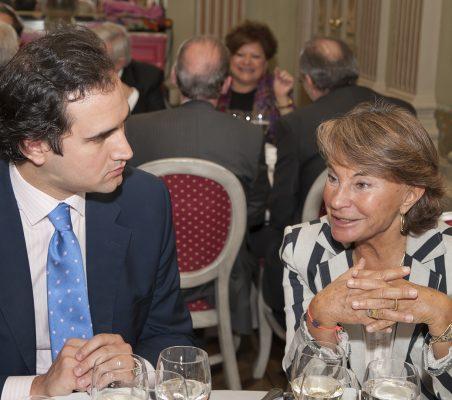 Tomás Poveda y Luisa Peña