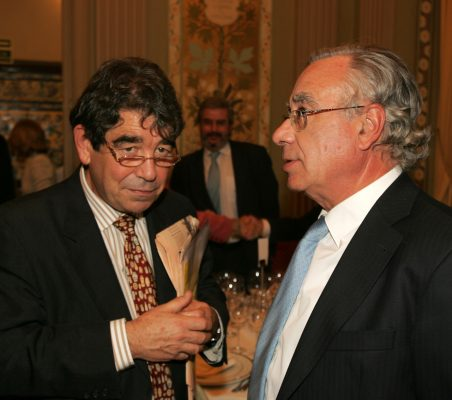 Tom Burns y Ángel Bizcarrondo