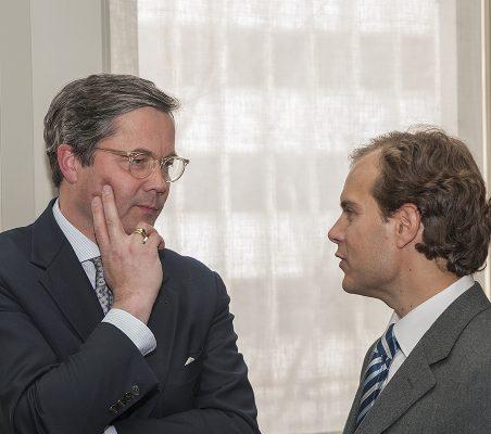Ulrich Sante y Guillermo Aparicio