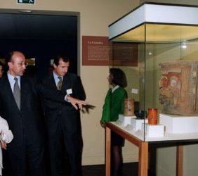 Visita a la exposición El País del quetzal. Guatemala maya e hispana