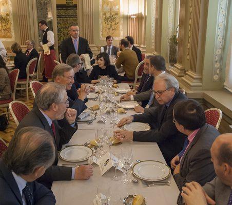 Vista mesa Presidencial