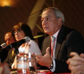 Carlos Solchaga en su intervención