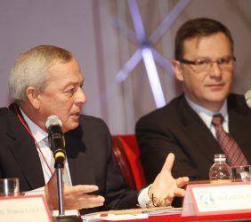 Carlos Solchaga y Leo Zuckermann