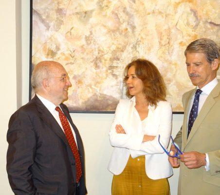Joaquín Almunia, Patricia Alfayate y José Ignacio Salafranca