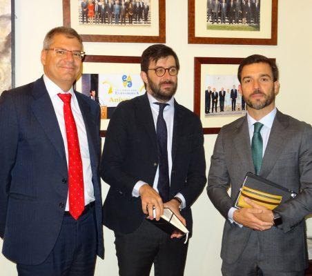 Daniel García Urosa, David Blázquez y Antonio Cases