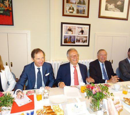 Renata Dutra, Borja Baselga, Ángel Durández, Carsten Moser y Antonio Cases