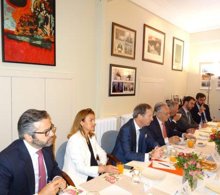 Rafael Duarte, Renata Dutra, Borja Baselga, Ángel Durández, Carsten Moser, Antonio Cases y David Blázquez