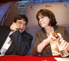 Jaime Abello, Fundación Nuevo Pensamiento Iberoamericano y Rosa Conde, Fundación Carolina