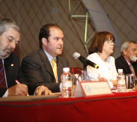 Magdy Martínez Solimán, Carlos Fernández, Rosa Conde y Carlos Solchaga