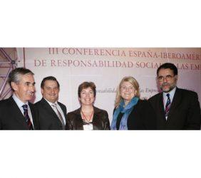 Ramón Jáuregui, Gerardo Lozano, María Emilia Correa, Audra Jones y Josep M. Lozano