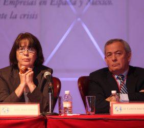 Rosa Conde y Carlos Solchaga