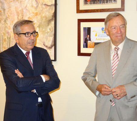 José Carlos García de Quevedo y Carsten Moser