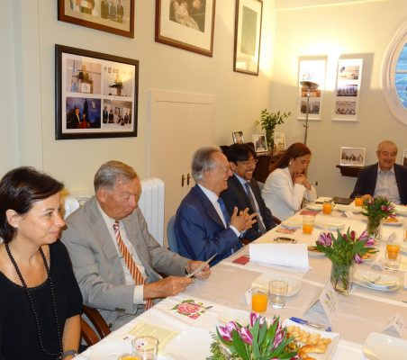 Geraldine Filippi, Carsten Moser, Ángel Durández, Ivan Antonino Sosa, María José Luque y Antonio Ortega