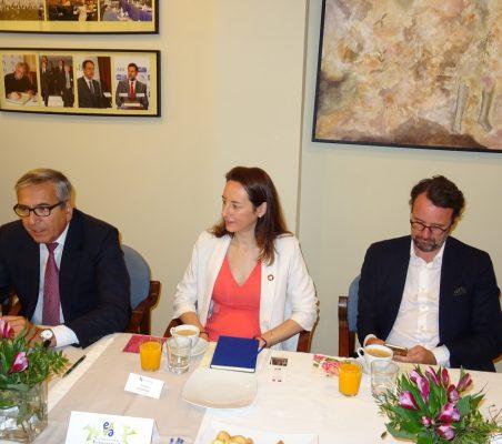 José Carlos García de Quevedo, Soraya Gamonal y David Suriol