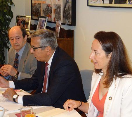 Antonio Sánchez Bustamente, José Carlos García de Quevedo y Soraya Gamonal