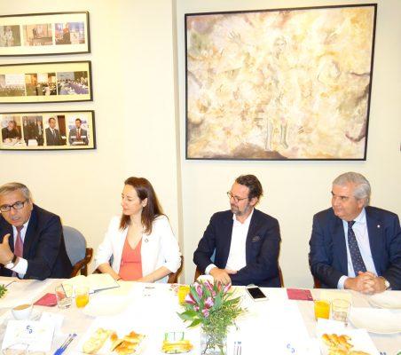 José Carlos García de Quevedo, Soraya Gamonal, David Suriol y Gonzalo Babé