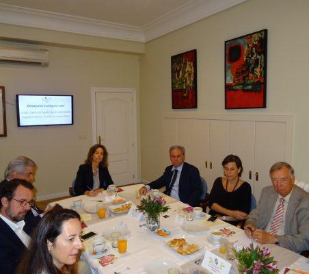 Soraya Gamonal, David Suriol, Gonzalo Babé, Patricia Alfayate, Jesús Prieto, Geraldine Filippi y Carsten Moser