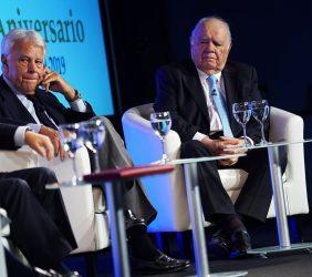 Felipe González y Enrique V. Iglesias