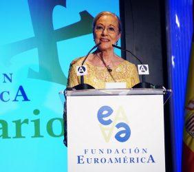 Benita Ferrero-Waldner, Presidenta de Honor de la Fundación Euroamérica