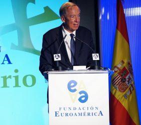 Carsten Moser, Vicepresidente de la Fundación Euroamérica y Maestro de ceremonias
