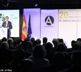 Intervención de S.M. el Rey durante la celebración del XX Aniversario de la Fundación Euroamérica