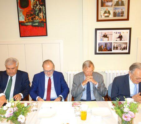 Gonzalo Babé, José María Beneyto, Carsten Moser y Ángel Durández