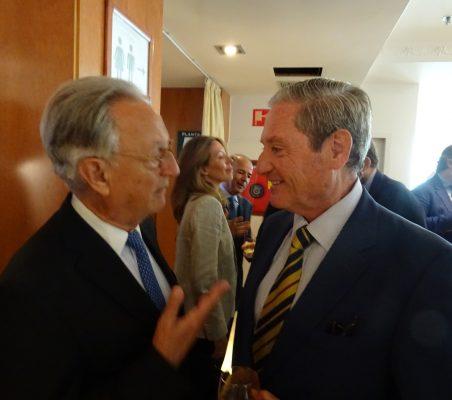 Ángel Durández y José Francisco Mateu