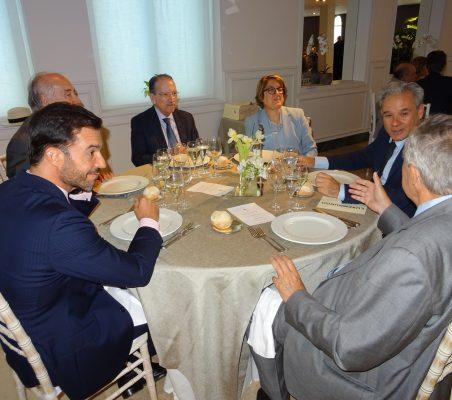 Antonio Cases, Miguel Vergara, Jorge Salaverry, Inmaculara Riera, Jesús Prieto y Antonio Ortega