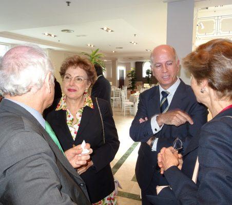 Carlos Malamud, Roberta Lajous, José María Torroja y Carolina Barco