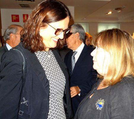 Cecilia Malmström, con Susana Malcorra