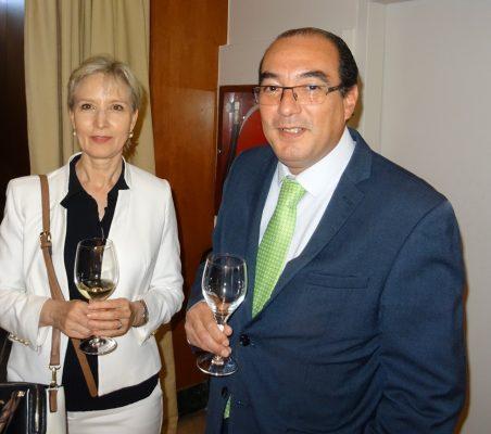 Doris Seedorf y Carlos Ávila