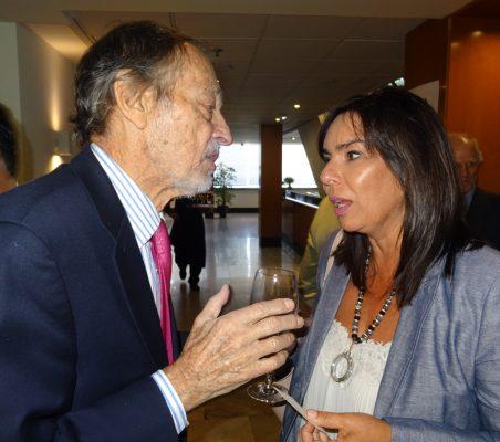Emilio Cassinello y Marta Camacho