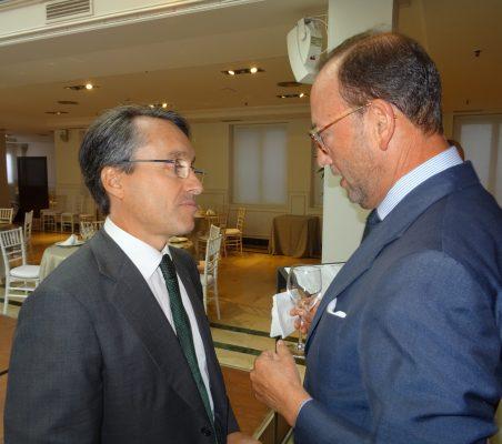 Héctor Flórez y Félix Losada