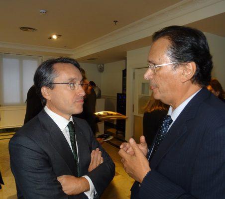 Héctor Flórez y Francisco Miñana
