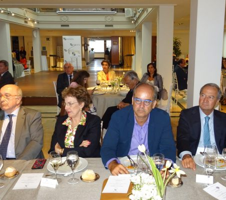 J. Almunia, Roberta Lajous, Antonio Cortina y Ángel Galán