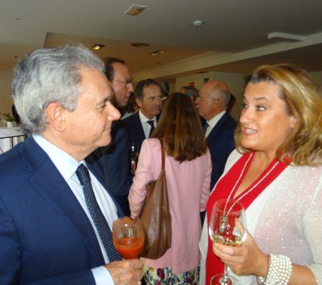 Jesús Prieto e Eva Monroy