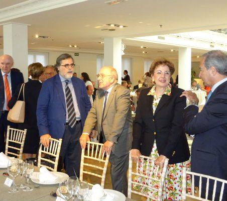 José Antonio García Belaunde, Miguel López Quesada, Joaquín Almunia, Roberta Lajous y Ángel Galán