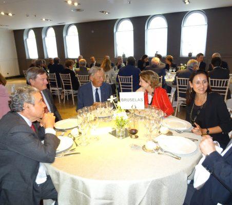 José Gasset, Carlos Mas y Carsten Moser, Luisa García, María Andrés y Antonio Sánchez Bustamante