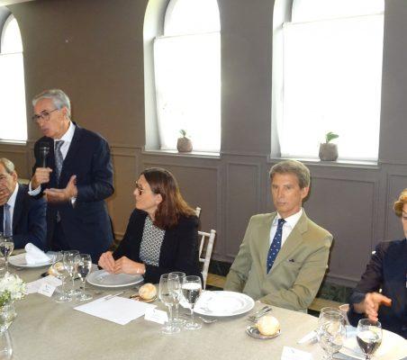 José Manuel González-Páramo, Ramón Jáuregui, Cecilia Malmström, José Ignacio Salafranca y Carolina Barco